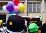 KONFETTI-Parade in Hamburg.