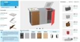 3D-Konfigurator Mülltrennsystem BINTO für Brügmann TraumGarten GmbH