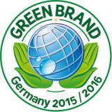 """MOLTEX nature no.1 wurde zum zweiten Mal """"GREEN BRAND 2015/2016 Germany"""""""