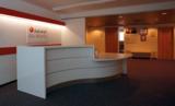 Der Empfangsbereich des neuen InfraSoft Büros