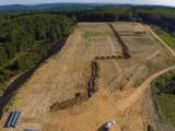 Der Solarpark Mittenaar-Bellersdorf bei Baubeginn