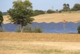 Einer der drei Solarparks der 7x7energie GmbH im Bau - Foto: 7x7energie
