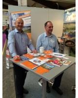 Die Berater der 7x7finanz GmbH freuen sich auf die Messebesucher in Kassel.