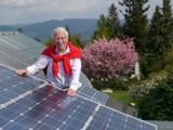 """""""Auf der Sonnenseite"""": Franz Alt spricht über die Energiewende."""