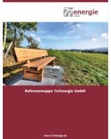 Die Referenzbroschüre der 7x7energie liefert Zahlen und Fakten zu allen Solarprojekten.