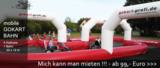 Mit der mobilen Gokartbahn tolle Feste feiern. Buchen bei www.gokart-profi.de zum kleinen Preis.