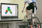 Biomechanische Satteldruckmessung im ergo4bike dynamic lab