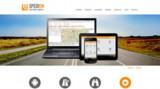 Startseite des neuen Internetauftrittes der Spedion GmbH.