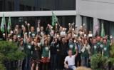 NATURSTROM-Mitarbeiter starteten einen Weckruf für die Energiewende. (c) NATURSTROM AG