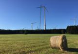 Windenergieanlage Berg, hier noch im Bau_Bildrechte: NATURSTROM AG
