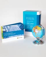 Der Globus steht im Mittelpunkt der B2B-Dialogmarketingaktion von PUNKTUM für Broadridge in Asien