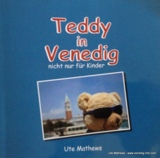 Buch Teddy in Venedig, Cover