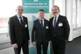 (v.l.n.r.) Prof. Dr. Marcus Klosterberg, Prof. Dr. Julius Reiter, Prof. Dr. Wolfgang Kuhn