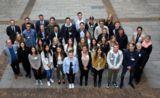 Start in Stuttgart: eufom Studierende nach ihrer Auftaktveranstaltung (Foto: Wilhelm Mierendorf)