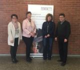von links: Dorothea Maisch, Sylvia M. Felder, Gabriele Dohm, Prof. Dr. Peter Dohm