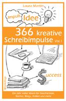 Laura Martin, 366 kreative Schreibimpulse