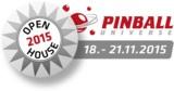 Faszination Flipperautomaten bei der Open House 2015 vom PINBALL UNIVERSE