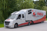 Mobiler Flipper-Showroom im Showtruck von PINBALL UNIVERSE