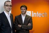 Christian Wagner (l), Bastian Friedrich - Geschäftsführer und Inhaber von in-tech