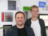 Ulf Klose und Joshua Bark gehören ab sofort zu den wenigen Red Hat-IT-Experten in Deutschland.