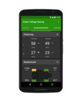 Anzeige von Fahrzeugdaten in Echtzeit auf Smartphones