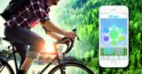 Die App CO2 fit misst jeden zurückgelegten Weg digital und errechnet das eingesparte CO2.