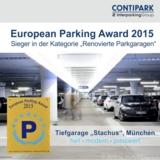 Das bestsanierte Parkhaus in Europa: Tiefgarage Stachus