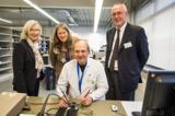 Kristin Thode, Vorstand Kirsten Schönharting, Investor Norbert Sellner, Teamleiter Norbert Ohde.