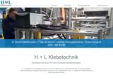 Der neue Internetauftritt von H + L Klebetechnik ist online