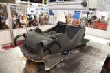 Druck eines Elektroautos Strati von Local Motors auf der IMTS 2014