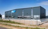 Der neue Erweiterungsbau am Firmensitz in Staig-Steinberg