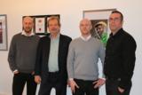 v.l.n.r. Sascha Lafeld, Prof. Jens Michow, Lasse Ernst, Stefan Lohmann Live Entertainment Experte