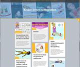 Internetseite kinder-lernen schwimmen.de