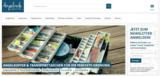 Startseite von Angelzeile.com mit Themenübersicht