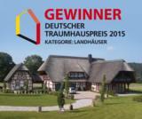 Elling 218 des Fachwerkhausunternehmens Emil von Elling gewinnt den Deutschen Traumhauspreis 2015.