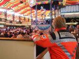 """Das Festzelt """"Marstall"""" setzte auch dieses Jahr auf einen zelteigenen Sanitätsdienst"""