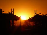 Camp in der Namib-Wüste