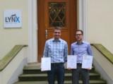 Zertifizierung von Claudius Gouders und Pascal Lautz zu Shopware Certified Template Engineers