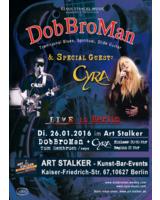 Live im ART Stalker DobBroMan und Cyra