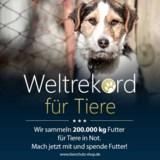 Tierschutz-Shop sammelt 200 Tonnen Futter, um Leben zu retten