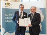 Auszeichnung für hervorragende Innovationsleistung vom Land Baden-Württemberg (