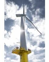 Die Deutsche Windtechnik beim Serviceeinsatz im Offshore-Windpark Butendiek.