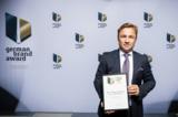 Jens Magdanz bei der Preisverleihung des German Brand Awards 2016