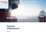 Foto von Christian O. Bruch im Niedersachsen Ports Webauftritt.