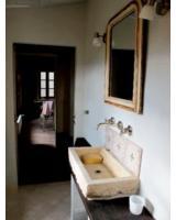 schönes typisches Badezimmer in der Toskana  gebaut Haustechnik-Toskana