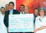 Im Palliativzentrum Villingen-Schwenningen wurde die Spendensumme übergeben