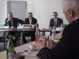 (v.l.n.r.) Stefan Sondermann (BBB), Sven Knapp (BREKO) und Stefan Tiemann (RFTKabel)