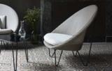 Die Sitzgelegenheit für die entspannten Mommente. Designersessel aus Original Loom.