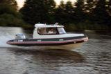 Kabinen-Schlauchboot mit unsinkbarem Rumpf