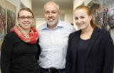 Manuela Jansen (l.) und Jana Bergmann absolvieren ein Trainee-Programm unter Regie von Thomas Beers.